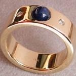 Individuelle Herstellung Goldringe Silberringe Verlobungsringe
