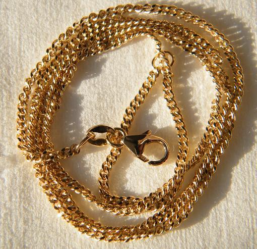 gewicht einer goldkette
