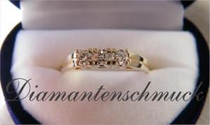 Diamantenschmuck Brillantenschmuck guenstig abzugeben