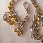 Taschenuhrenkette aus 925 Silber