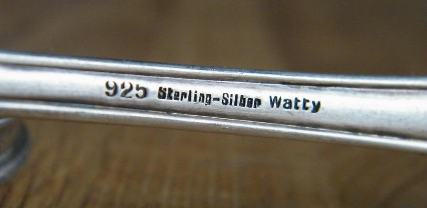 Häufig Punze Stempel Prägung bei Silber Besteck und Geschirr | Eheringe DV29