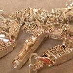 Kreuz mit Jesus Unikate Hamburg Goldschmiede