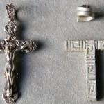 Silberkette mit Kreuz Unikate Hamburg Goldschmiede