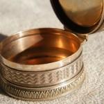Silberdose antike accessoires gold silber unikate
