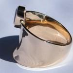 Verlobungsring 750 585 gelb weiß rose gold saphir hamburg goldschmiede