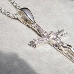 jesus christus kreuz kette glauben silber goldschmiede unikate