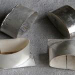 Elfenbein Armreif individuelle Umarbeitung Herstellung Hamburg Goldschmiede