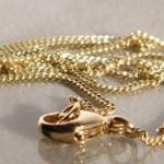 Goldkette 750. Länge 42cm