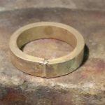 Verlobungsring aus mein Gold herstellen lassen bei Goldschmied