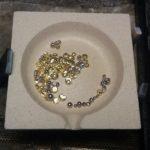 Herz Anhänger Herstellung aus 585 Weißgold Goldschmied Hamburg Rahlstedt #deutschlandgoldschmiededesign