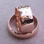 Eheringe aus 585 oder 750 Rosegold. Auch aus Ihrem Altgold. Umweltfreundliche individuelle Herstellung aus Recycling Gold