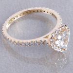 Verlobungsring mit Diamanten Herstellen Goldschmiede Hamburg Rahlstedt Wandsbek