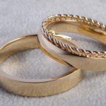 Kordelring mit Ehering Umweltfreundliche Herstellung aus Recycling Gold Hamburg Rahlstedt Oldenfelde