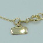 Damen Goldkette mit Anhänger aus 585 Gold mit verstellbarer Länge