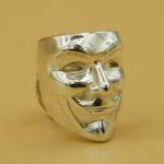 V wie Vendetta Anonymous Ohrstecker