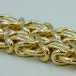 Königskette aus 585 Gold