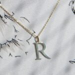 Anhänger Buchstaben aus 585 Gold Initialen Goldschmiede Rahlstedt Oldenfelde