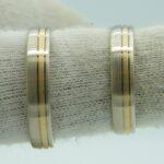 Bicolor Eheringe aus Altgold Bruchgold Umweltfreundliche Herstellung Goldschmiede Hamburg Wandsbek